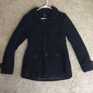 Mine black coat size small